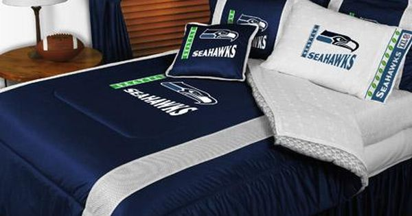 Seattle seahawks nfl sidelines bedding i think i may for I want to redecorate my bedroom