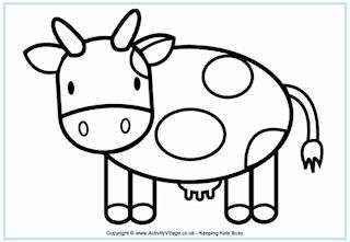 Farm Colouring Pages For Kids Farm Animal Coloring Pages Cow Coloring Pages Farm Coloring Pages