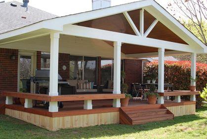 Outdoor Patio Enclosures Photos And Design Ideas Covered Patio