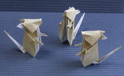 折り紙計画 ねずみ 折り紙 折り紙 ねずみ ネズミ 折り紙