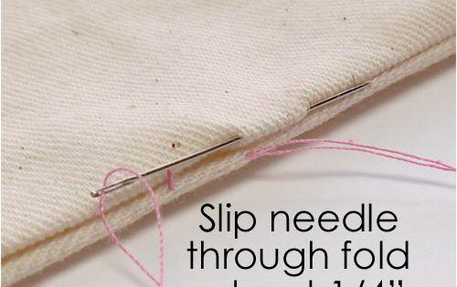 Slip stitch tutorial