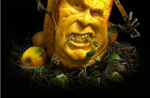 Brilliant Pumpkin Carving, funny facial smile ~ wow / Awesome how's it
