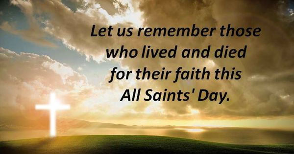 All Saints Day Quotes Tumblr