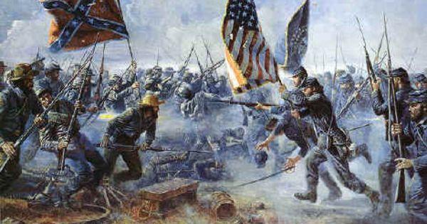 La guerre de Sécession ou guerre civile américaine ...
