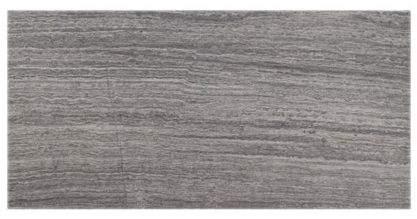 Layers Aggregate Porcelain Tile With Light Gray Grout