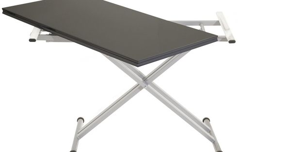 249 Table Relevable Extensible Twister Pas Cher Table