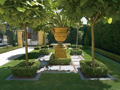 hedge - Traditional Garden - Landscaping by Scott Brown ... on