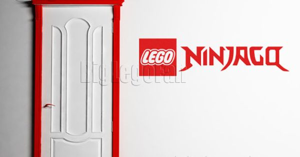 Ninjago ninja go logo inspired wall decal sticker by - Lego ninjago logo ...