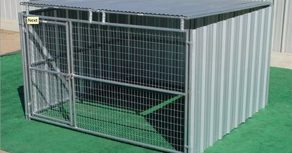 Heavy Duty Outdoor Enclosed Dog Kennel With Roof Shelter Single Run 10x10 Dog Kennel Diy Dog Kennel Dog Kennel Roof