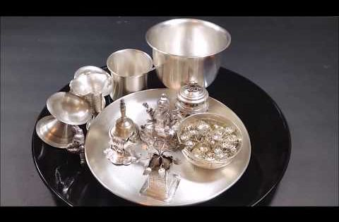 How To Clean Silver Items At Home Easy Way To Clean Silver Items In Telugu Youtube How To Clean Silver Silver Pooja Items Cleaning