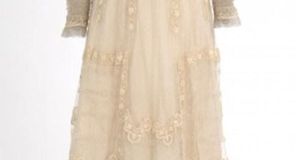 Vintage Wedding Dress 1900-1910