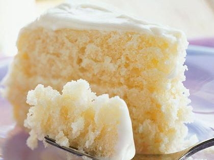 Lemonade Layer Cake From Cooking Light Thawed lemonade concentrate adds bold, fun