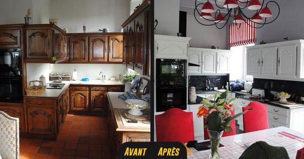 relooking cuisine vannes rennes lorient 1 r novation cuisine avant apr s pinterest. Black Bedroom Furniture Sets. Home Design Ideas