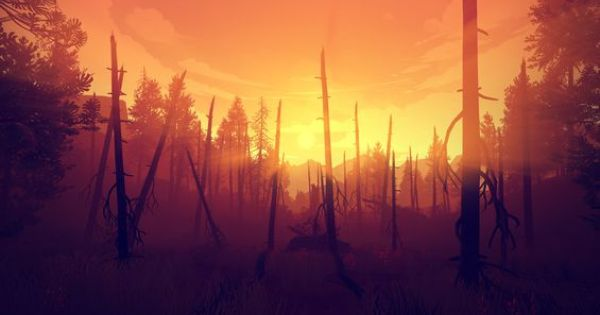Firewatch Sees Relationships Rise From The Ashes Of Loss Firewatch Firewatch Game Campo Santo