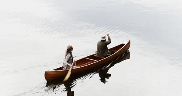 Glassy lake paddling.