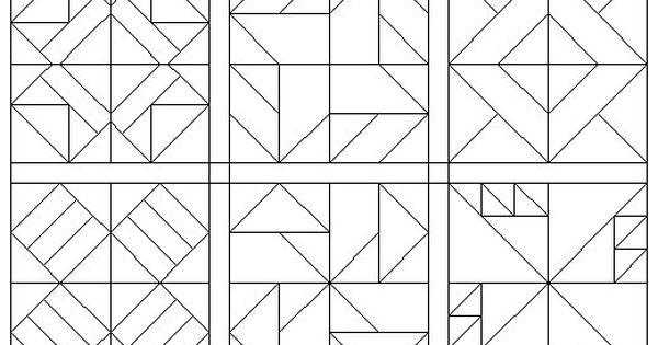 coloring pages quilt blocks 09  u2026