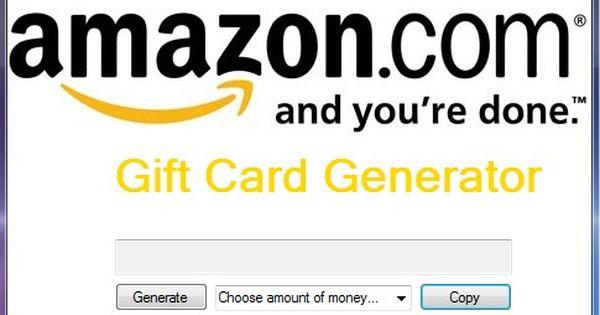 Telecharger Amazon Gift Card Generator Virtual Hack Fr Gift Card Generator Netflix Gift Card Codes Amazon Gift Card Free