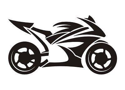 Gsxr Cbr R1 R6 Ninja Tribal Motorcycle Sport Bike Vinyl Decal Sticker Cool Ipad Ebay Motorcycle Artwork Bike Drawing Motorcycle Art Painting