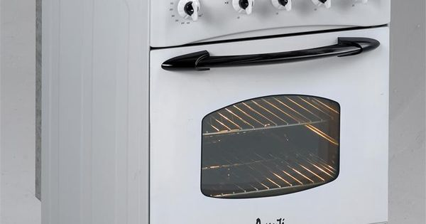 "Gas Ranges >> Small Gas Stoves for Apartments | Avanti | 24"" Gas Range - White - Model G2404CW | Home ideas ..."