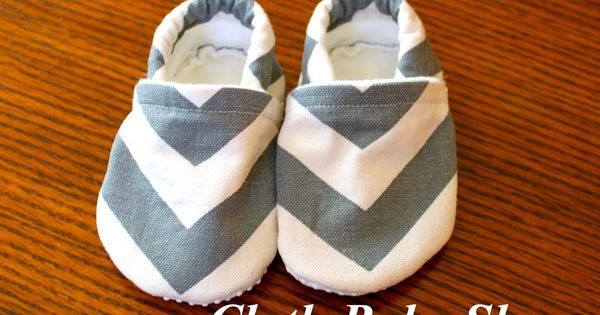 DIY Cloth Baby Shoes Pattern | thatssewnina: My favorite DIY baby gift