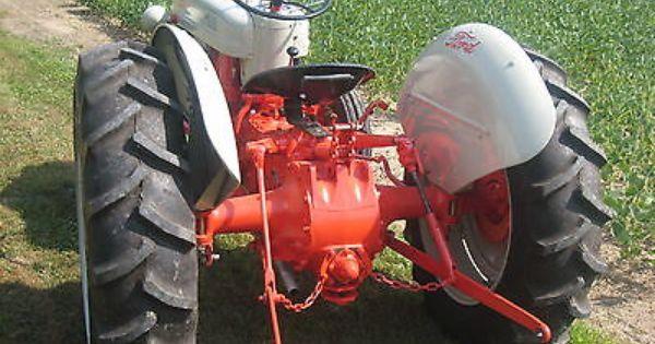 1953 Ford Golden Jubilee Classic Tractor Vintage Tractors Antique Tractors