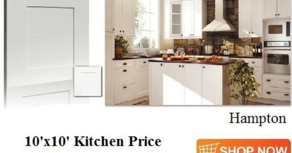 Adornus Hampton White Shaker Cabinets From Cabinetsdirectrta Com Kitchen Prices Kitchen Cabinets Prices White Shaker Cabinets