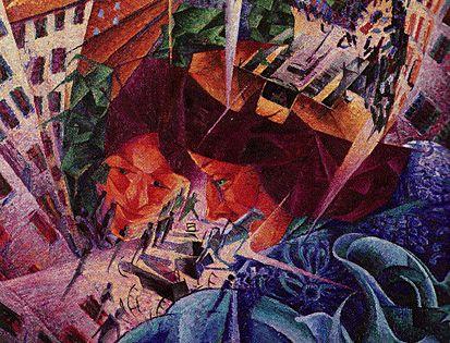 Vision simultanée, 1911, Umberto Boccioni Vision ...