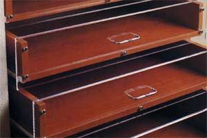 Acrylic Closet Drawers Door And Drawer Faces Are Fabricated From