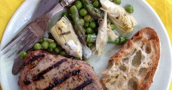 Pork chops, Pork and Easy pork chop recipes on Pinterest
