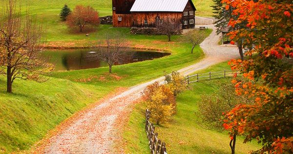 Sleepy Hollow Farm - Woodstock, Vermont. (a few years ago Aerosmith purchased
