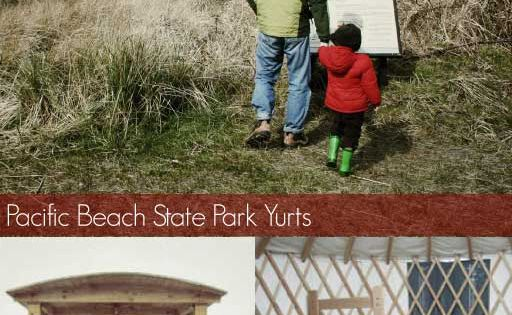 Yurts At Pacific Beach State Park Washington Cabins To