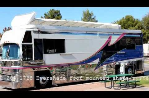 Evershade Rv Roof Shade Systems Like An Awning For The Roof Youtube Rv Shades Shade Sail Rv Canopy