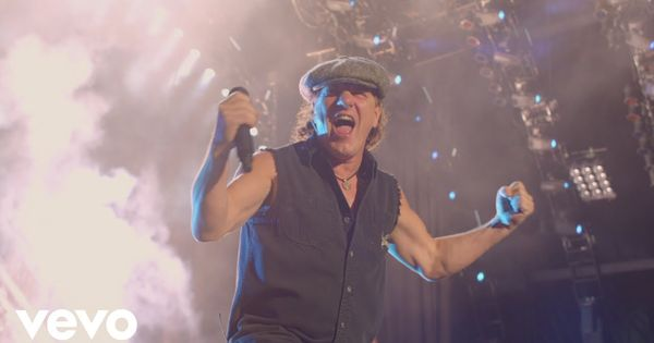Ac Dc Rock N Roll Train From Live At River Plate Acdc Rock