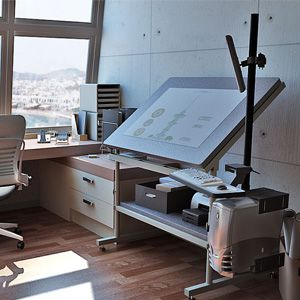 Professional Drafting Table 48 Wide Guaranteed For Life This