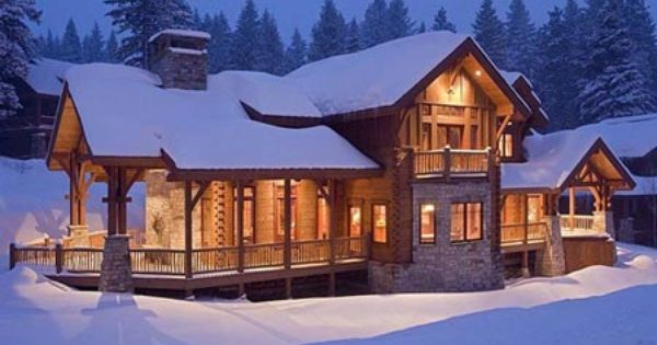 Eagles nest log home mountain architects inc precision for Eagle nest home designs