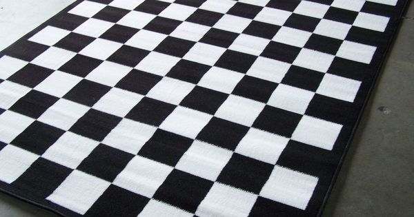 Where Can I Buy Black And White Checkered Kitchen Rugs