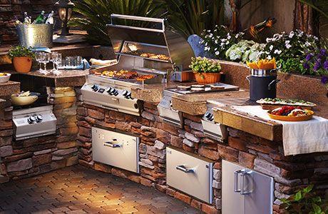 Best Outdoor Kitchen Kits Storage Packages Outdoor Kitchen Appliances Outdoor Kitchen Backyard Kitchen