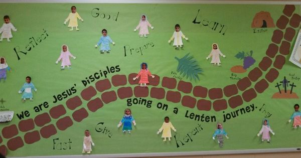 Quot We Are Jesus Disciples Going On A Lenten Journey Quot During