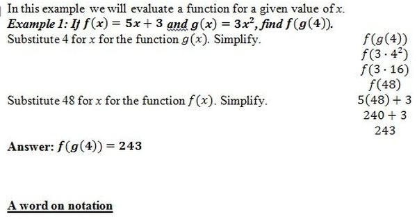 Free Worksheet Pdf And Answer Key On Composition Of Functions 25 Scaffolded Questions That Start Relatively