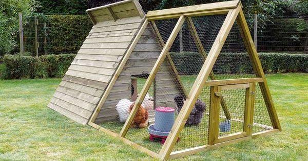Un poulailler dans le jardin c est possible triangles for C est un jardin
