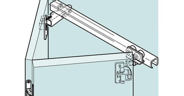 Leporello Folding Two Door Overlay Top Hung Cupboard Door Fitting System Overview Not Sure Whether Mechanism Is Folding Doors Door Fittings Sliding Cupboard