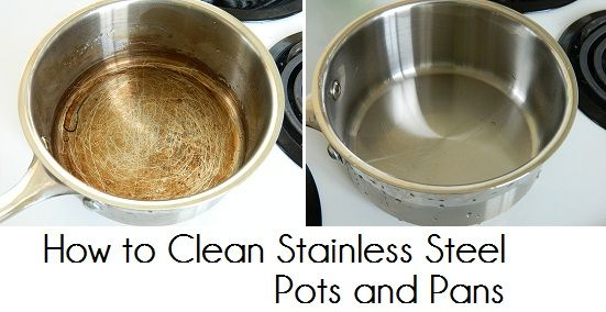 How To Clean Stainless Steel Pots And Pans Pot Cleaning