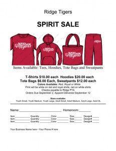Custom T Shirt School Fundraiser School Fundraisers School Tshirts School Spirit Wear