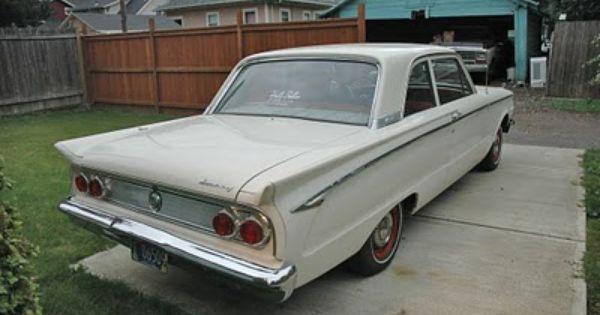 1962 Mercury Comet 2 Door Sedan Mercury Comet Sedan