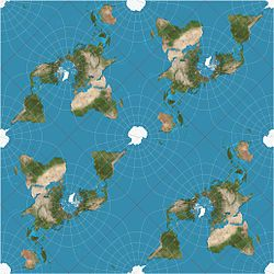 Peirce quincuncial projection - Wikipedia, the free ...
