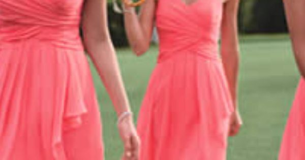 i love the idea of same color different dress styles for bridesmaids