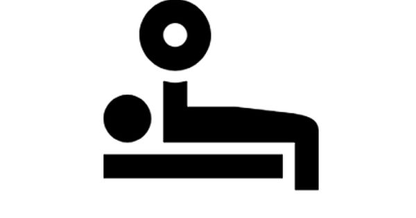 Bench Press Icon In Material Style This Bench Press Icon Is Made