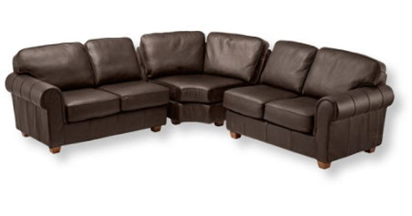 Leather sectional for the home pinterest leather for Jackson lawson sectional double chaise sofa