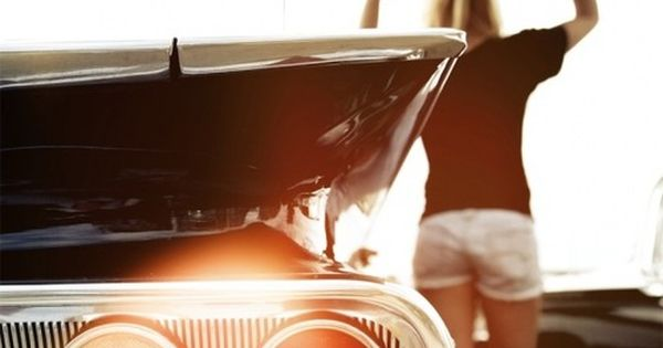 #classiccar surfergirl