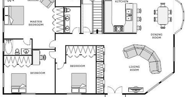 Floor Plan Design Software For Log Homes House Blueprints House Layout Plans Home Layout Design